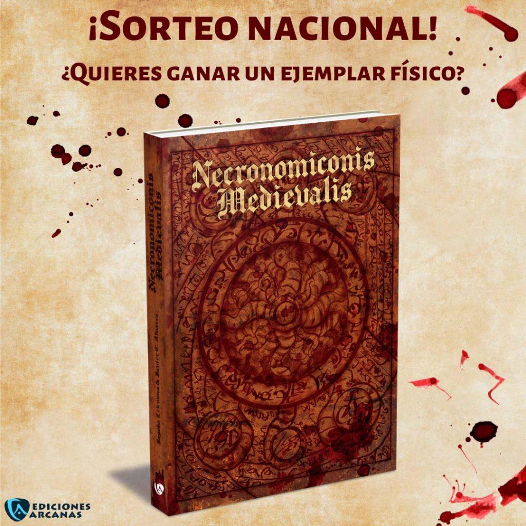 #sorteo Necronomiconis Medievalis
