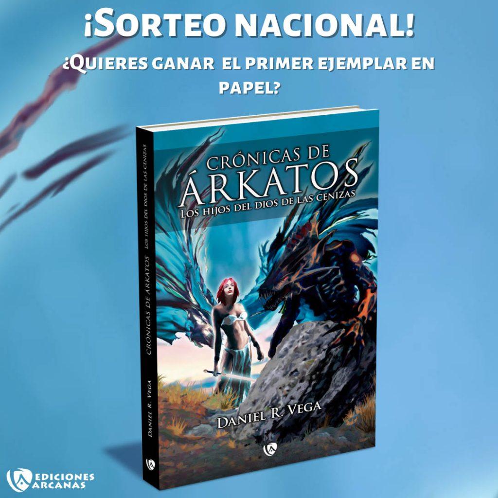 #sorteo Crónicas de Árkatos
