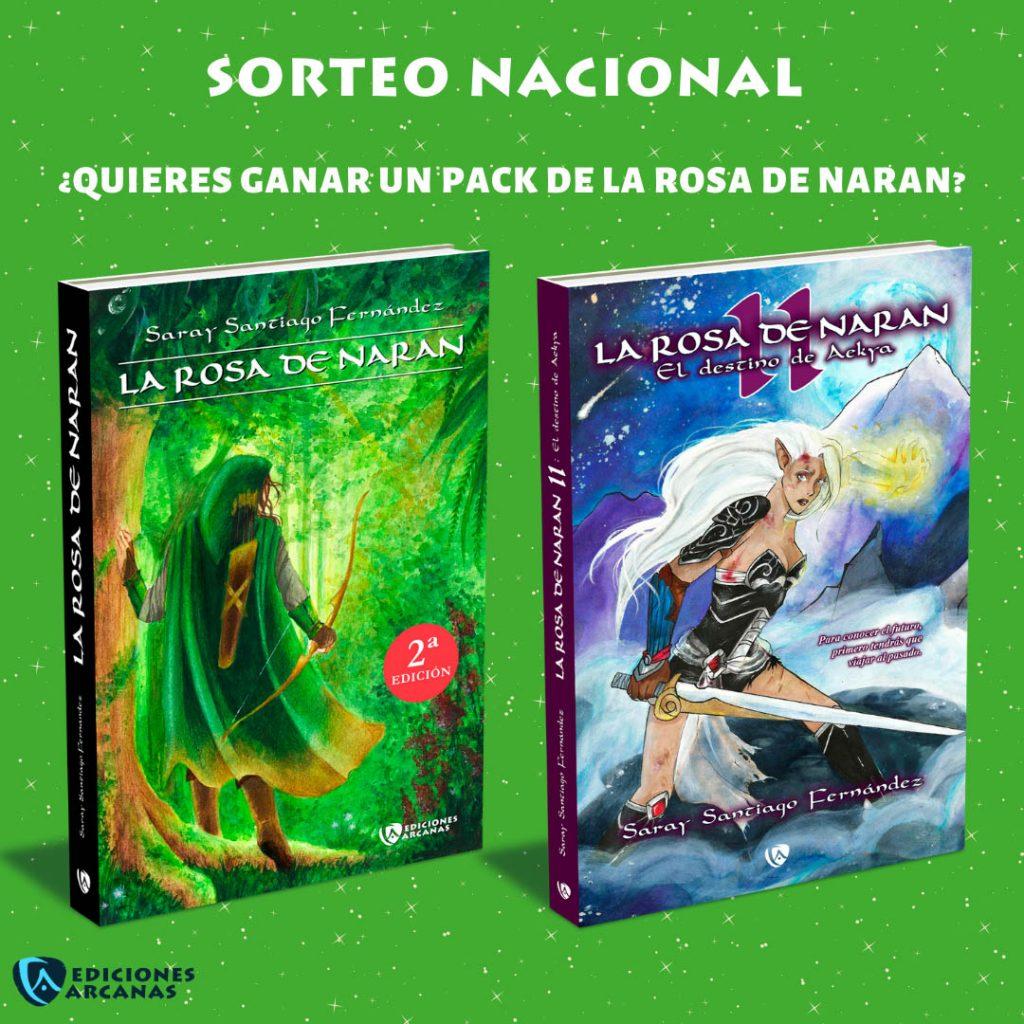 Sorteo pack La Rosa de Naran